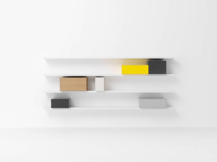 VISION V395: minimalistische Woonkamer door Pastoe