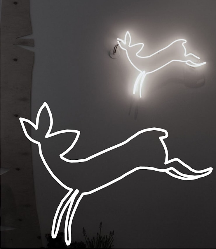 Neony we wnętrzach: styl , w kategorii Szkoły zaprojektowany przez neonlove,Nowoczesny