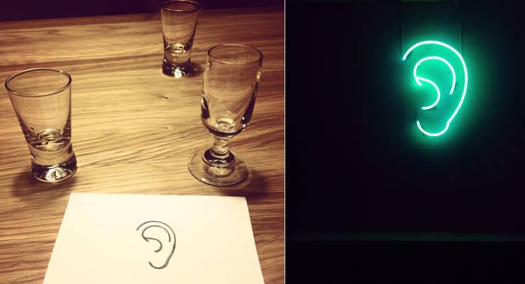 Neony we wnętrzach: styl , w kategorii  zaprojektowany przez neonlove,Minimalistyczny