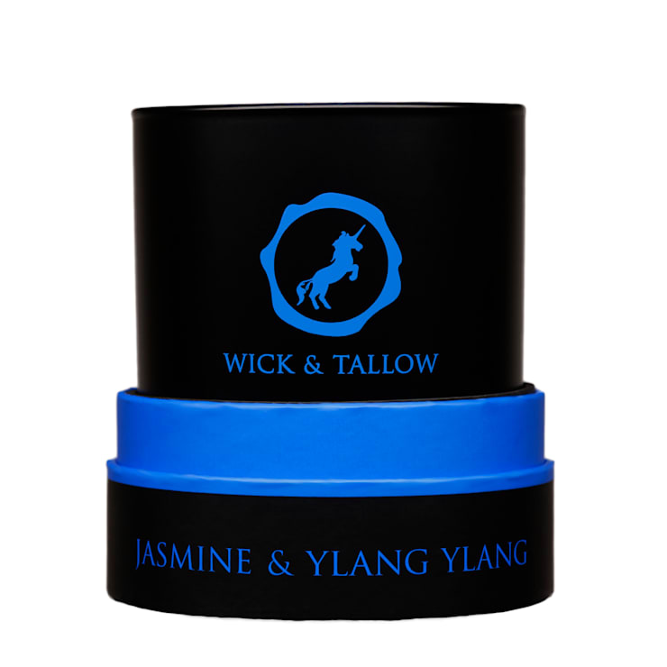 Wick & Tallow Jasmine & Ylang Ylang Candle:  Household by Wick & Tallow
