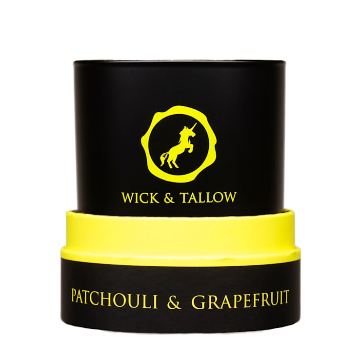 Wick & Tallow Patchouli & Grapefruit Candle:  Household by Wick & Tallow