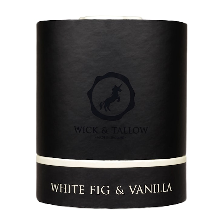 Wick & Tallow White Fig & Vanilla Candle:  Household by Wick & Tallow