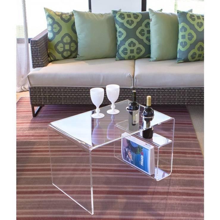 moderne Wohnzimmer von Designtrasparente