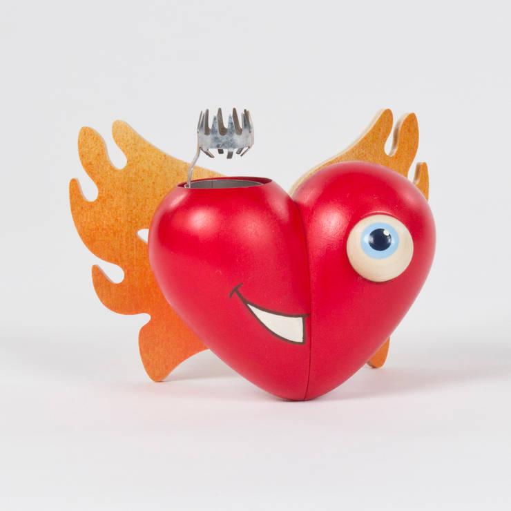 Herzglühen:  Esszimmer von DREGENO