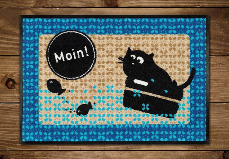 Fußmatte Moin:  Wände & Boden von cats on appletrees