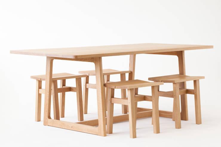 Dessau Dining Table:   by Liam Treanor
