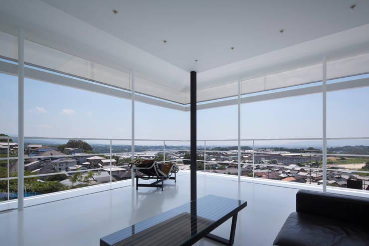 奈良阪の家 の Yoshiaki Yamashita Architect&Associates