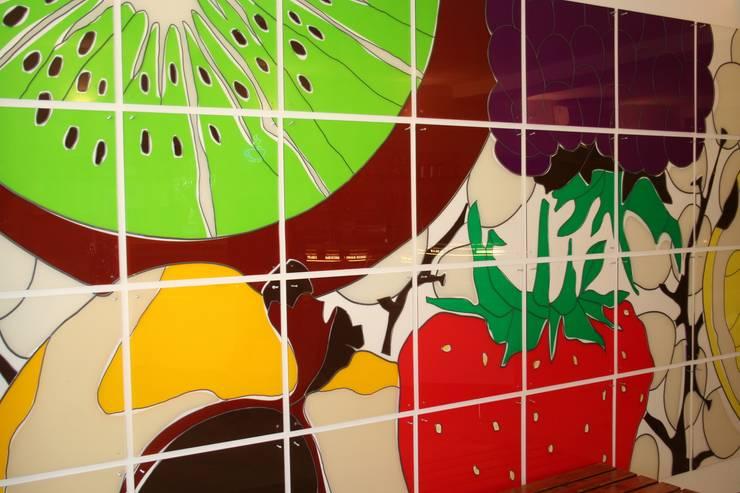 vers fruit:  Kunst  door binnenruimte,