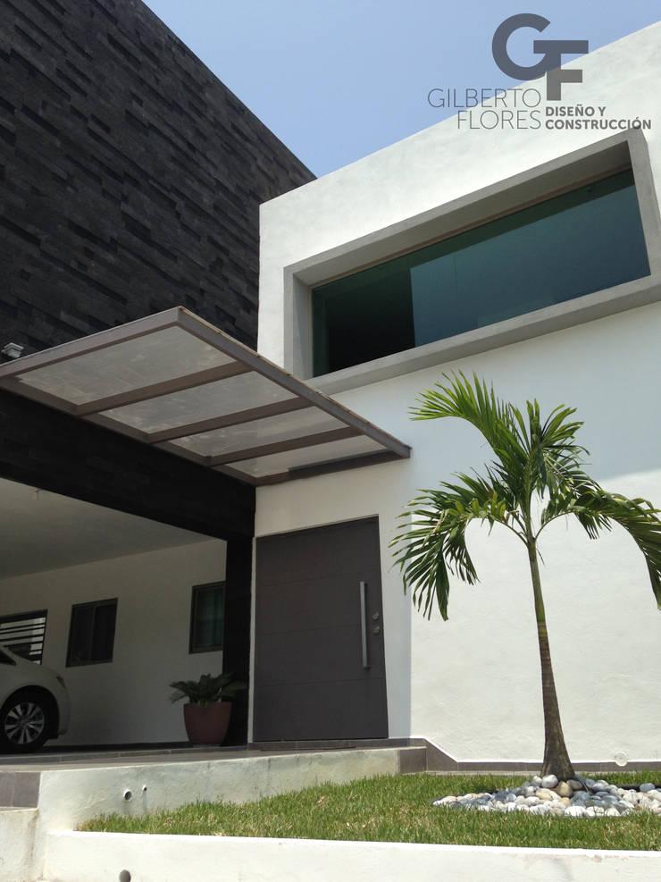 CAROLCO 1: Casas de estilo  por GF ARQUITECTOS