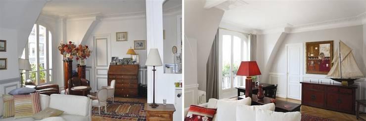 Duplex 4 pièces 160m2:  de style  par Créateurs d'interieur