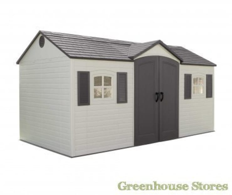 Lifetime 15x8 Plastic Shed:  Garages & sheds by Greenhouse Stores