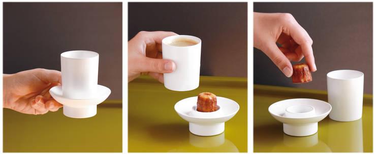 tasse à café CACHE-CACHE: Cuisine de style  par Lucie Bolzec