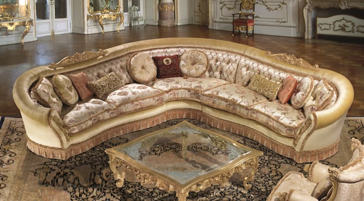 Living room تنفيذ Lunardelli Egidio srl