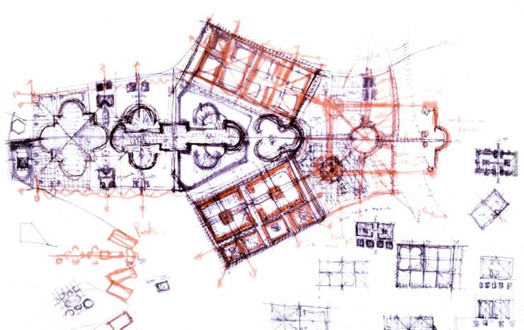 Antigone:  de estilo  de Ricardo Bofill Taller de Arquitectura