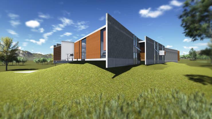 Casa em Paraitinga: Casa  por Escritório Yuri Vital