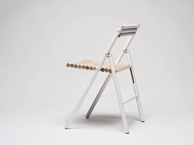 STEEL klapstoel:  Eetkamer door Reinier de Jong Design