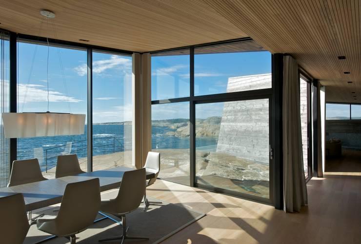 Projekty,   zaprojektowane przez Jarmund/Vigsnæs AS Arkitekter MNAL