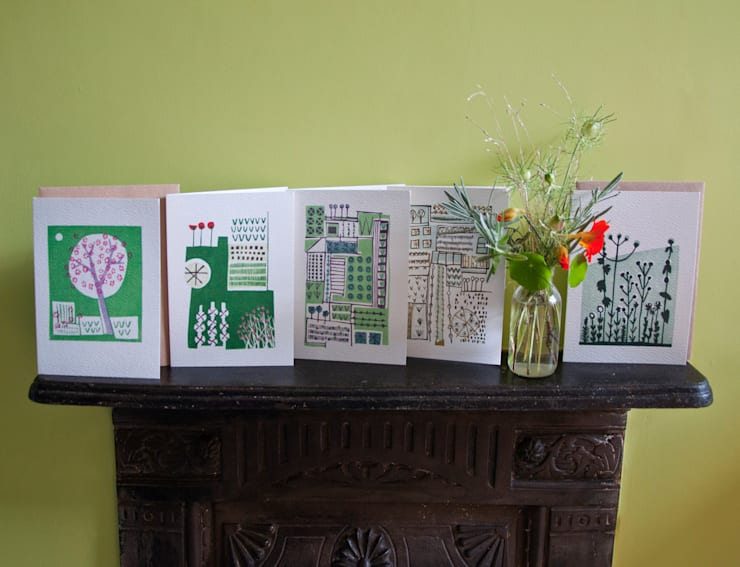 Greetings cards, print collection by Kate Farley:  Artwork by Kate Farley