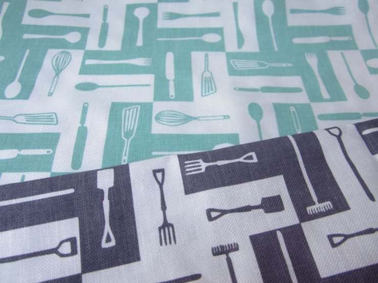 Plot to Plate tea towels by Kate Farley:  Kitchen by Kate Farley
