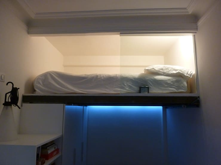 Antinomik design의  침실