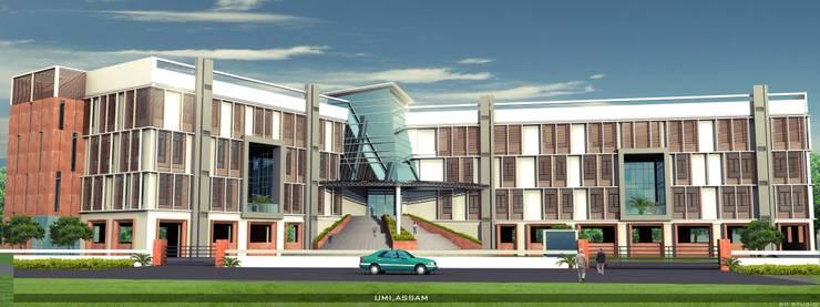 URBAN MANAGEMENT INSTITUTE, GUWAHATI:   by PRAKALPA PLANNING SOLUTIONS PVT. LTD