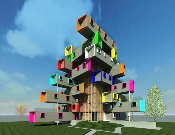 Container Housing:   by MODI SRIVASTAVA AND ASSOCIATES