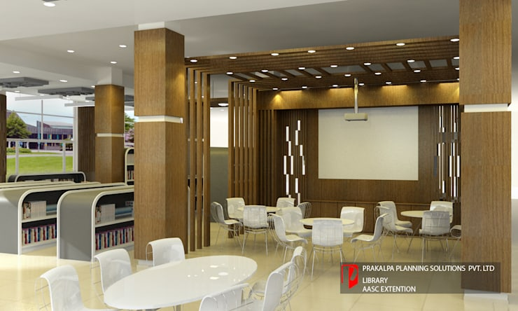 LIBRARY BLOCK, ASSAM ADMINISTRATIVE STAFF COLLEGE, GUWAHATI:   by PRAKALPA PLANNING SOLUTIONS PVT. LTD