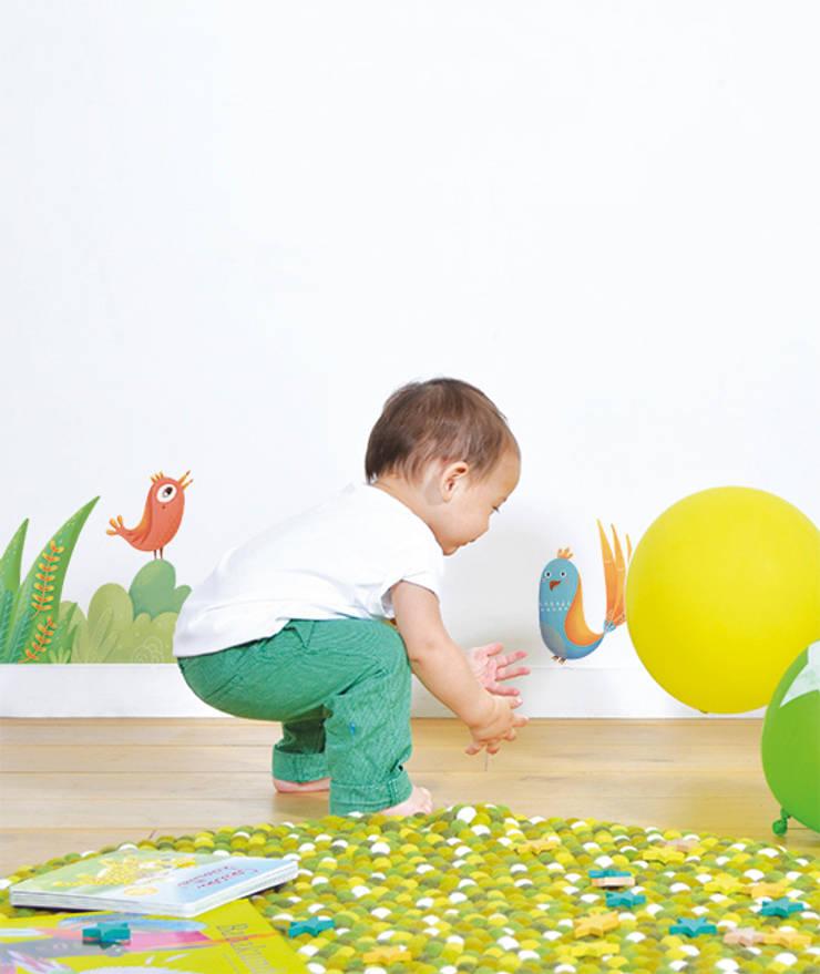 Tropical mix: Chambre d'enfants de style  par Lilipinso