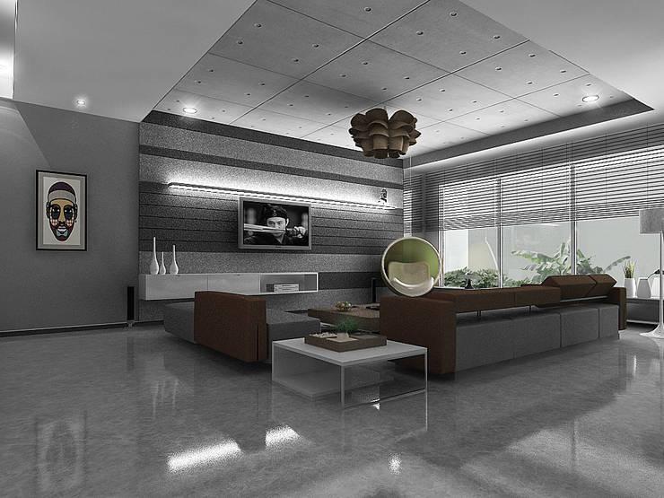 Apartment Interiors , Hiranandani Towers:  Houses by Play Design Studio