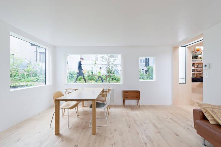 غرفة السفرة تنفيذ hiroshi kuno + associates