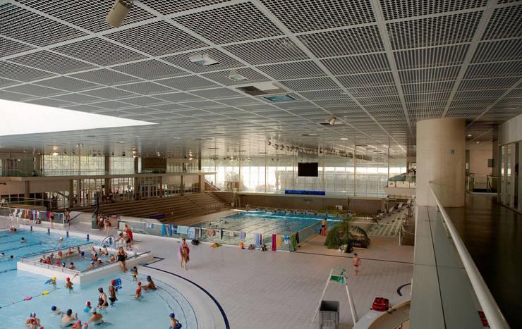 Olympic swimming pool of Montpellier:  de estilo  de Ricardo Bofill Taller de Arquitectura