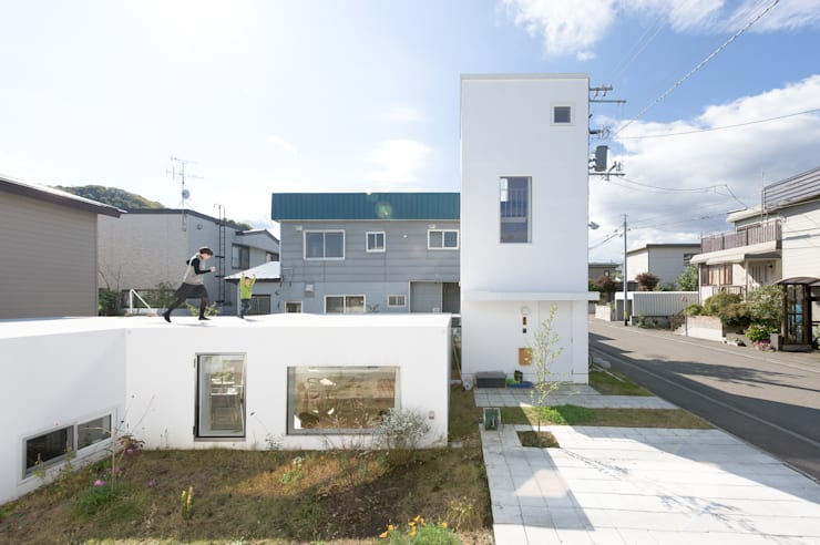 منازل تنفيذ hiroshi kuno + associates