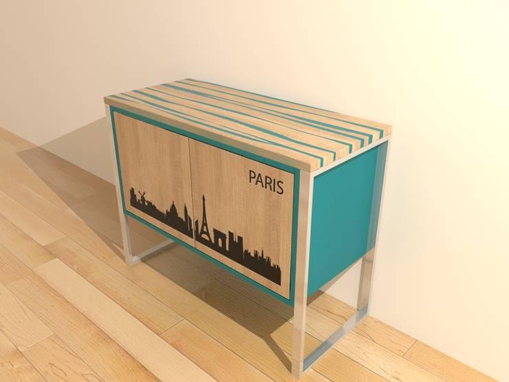 modern  by Haubiz Design, Modern