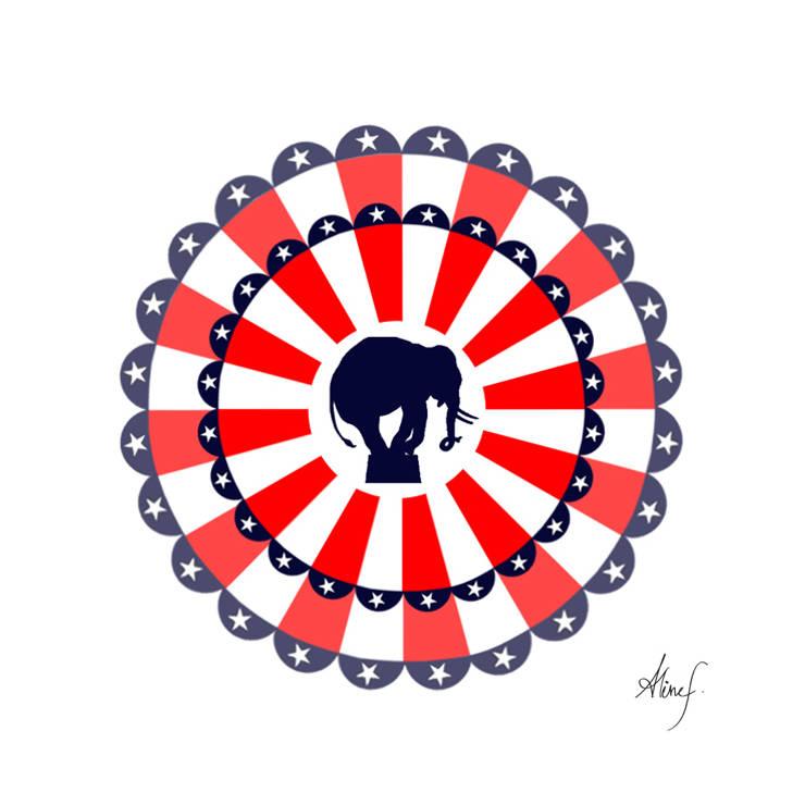 American Circus: Art de style  par ALINEF DESIGNER