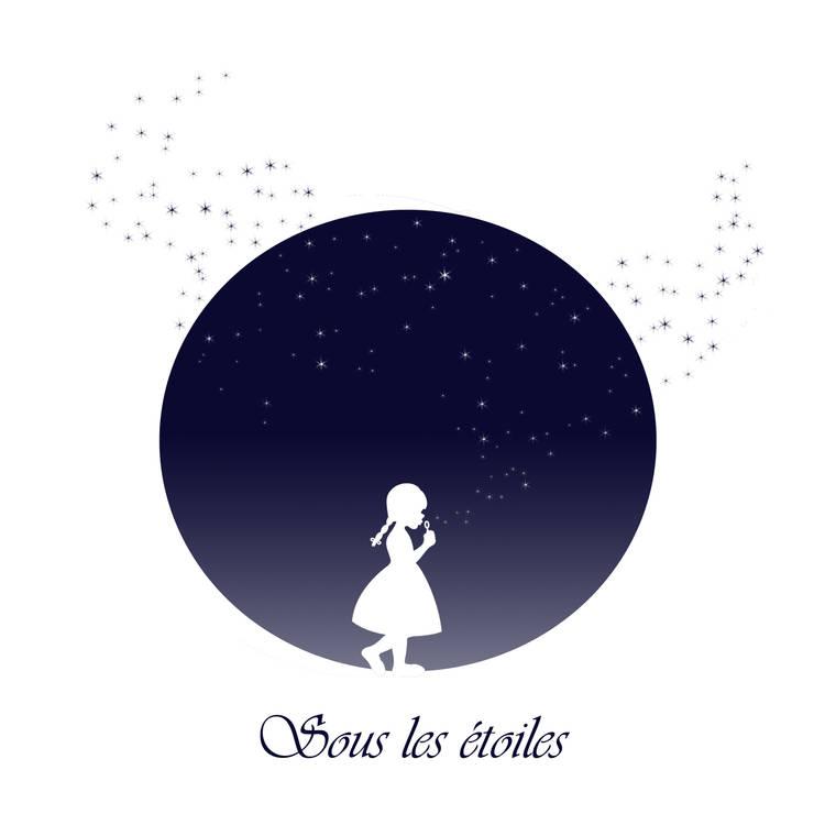 Sous les étoiles: Art de style  par ALINEF DESIGNER