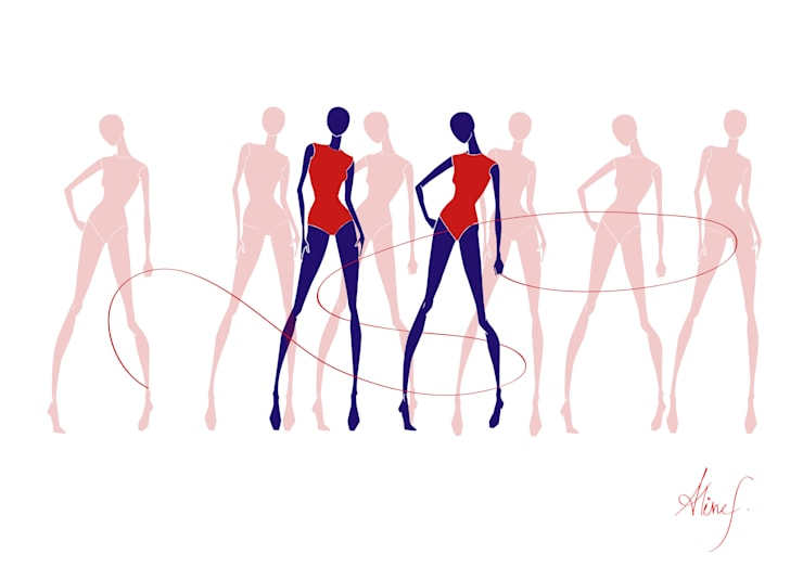 Illustrations: Art de style  par ALINEF DESIGNER
