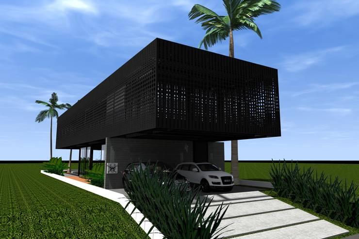Casa de Lata:   por Bruno Rubiano,Moderno