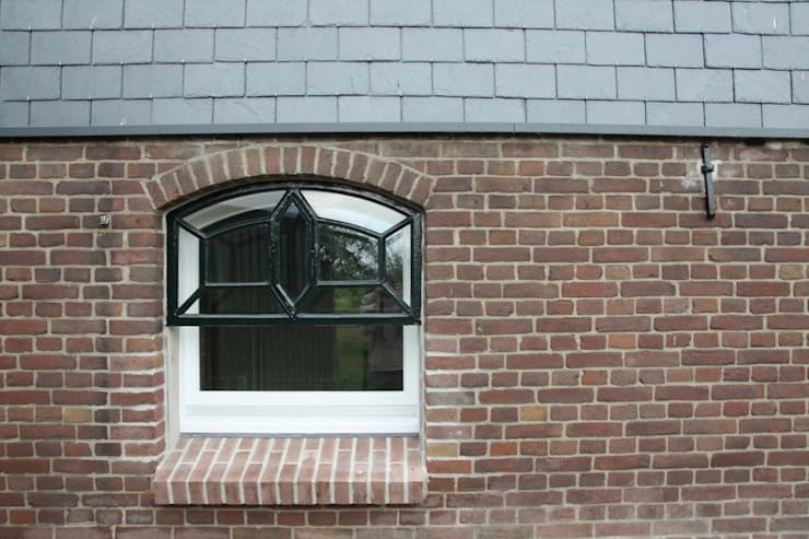 Projekty,  Okna zaprojektowane przez Architectenbureau Jules Zwijsen