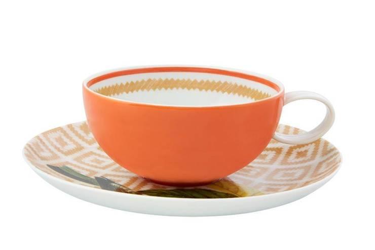 Xícara de Chá com Pires:   por Olhar o Brasil,