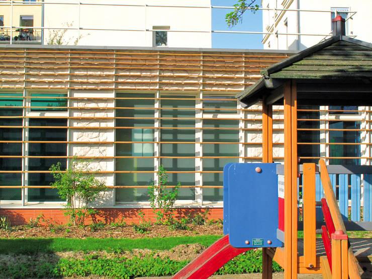 Une Halte garderie écologique à paris:  de style  par Paribiotop