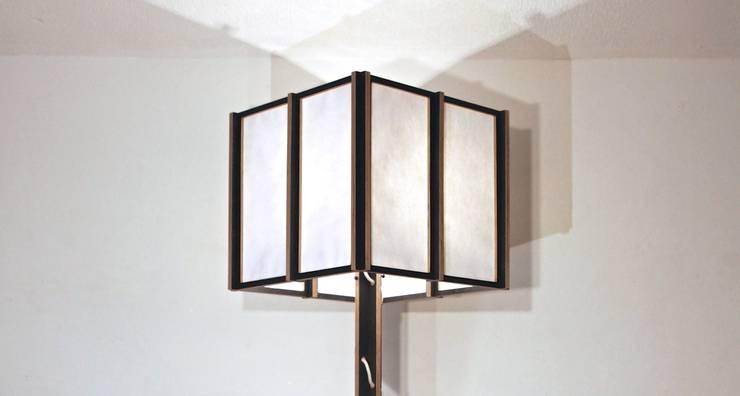 Japandeco Floor Lamp:  Living room by stleger.luke