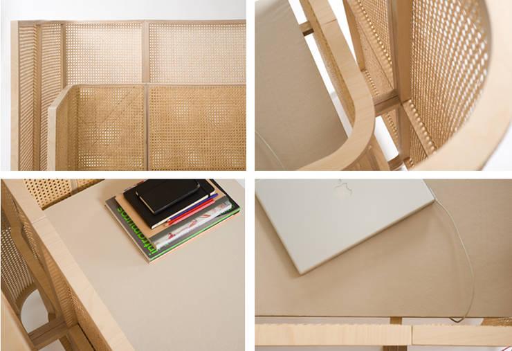 bureau <q>2x1</q>: Bureau de style  par FABIEN PETIOT