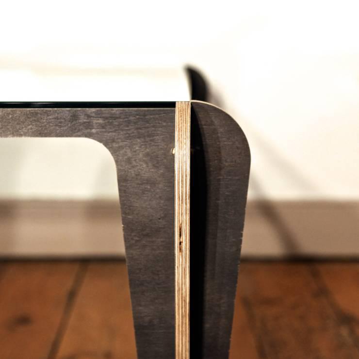 Japandeco Glass Table:  Living room by stleger.luke