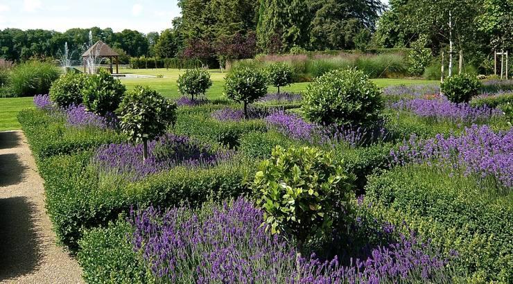 A large formal garden near Henley on Thames:   by Joanne Alderson Design