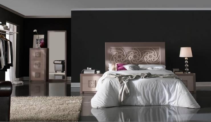 Cabecero Liliane Color Terra: Dormitorios de estilo  de Ámbar Muebles