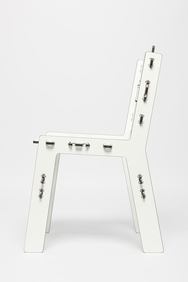 The CLICdiner chair HPL:  Eetkamer door PeLiDesign