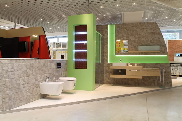 Showroom arredo bagno self italia moncalieri von designer homify