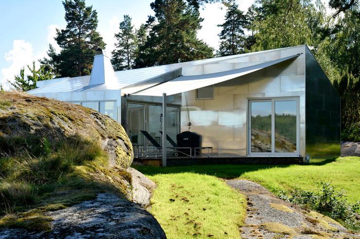 Projekty,  Domy zaprojektowane przez Jarmund/Vigsnæs AS Arkitekter MNAL