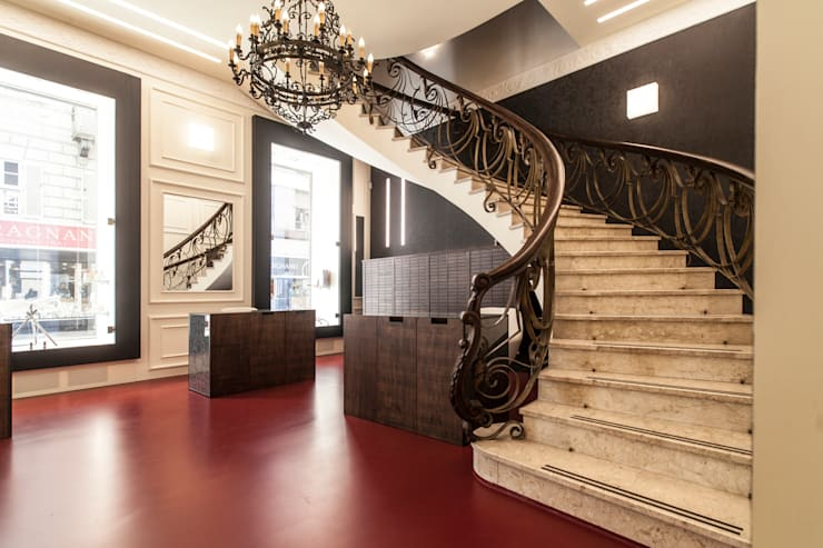 ottica_FULCHERI 2: Negozi & Locali Commerciali in stile  di Gianluca Murano Architetti,