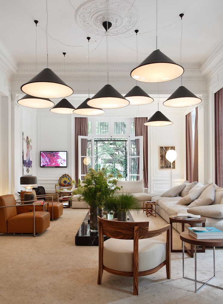 Casa Cor 2011: Salas de estar  por Gisele Taranto Arquitetura